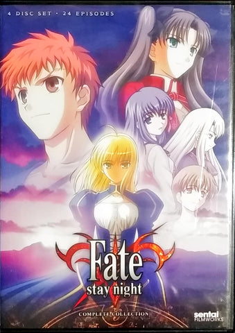 Fate/Stay Night DVD Complete Collection Sealed