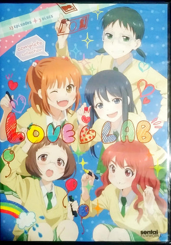 Love Lab DVD Complete Collection Sealed
