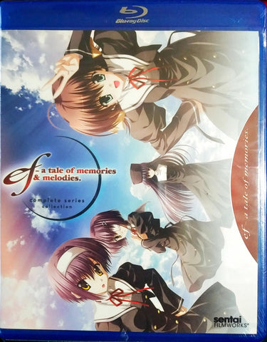 ef ~ a tale of memories & melodies Blu-ray Complete Series Collection Sealed