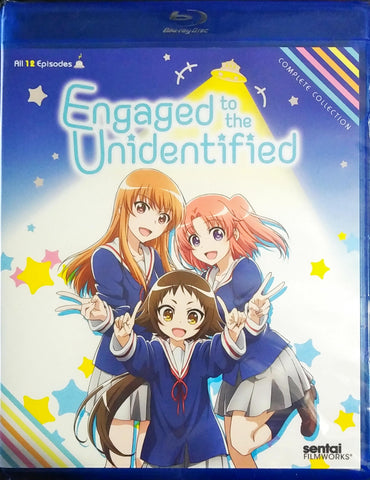 Engaged to the Unidentified Blu-ray Complete Collection Sealed