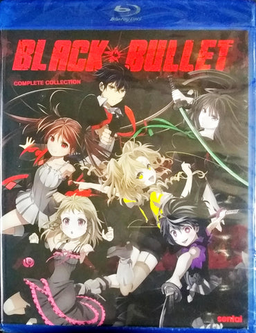 Black Bullet Blu-ray Complete Collection Sealed