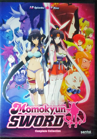 Momokyun Sword DVD Complete Collection Sealed