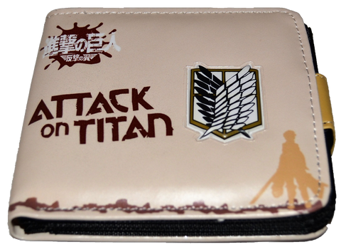 Attack on Titan Double Decker Wallet