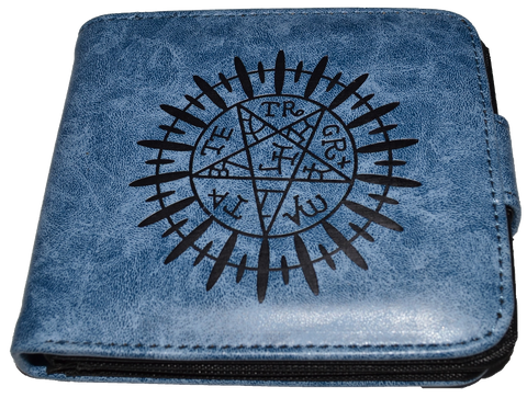 Wallet Double Decker Logo Black Butler