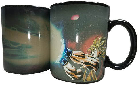 Mug Color Change Goku Kamahamaha
