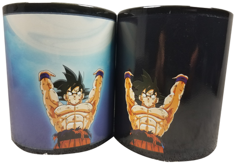 Mug Color Change Goku Spirit Bomb