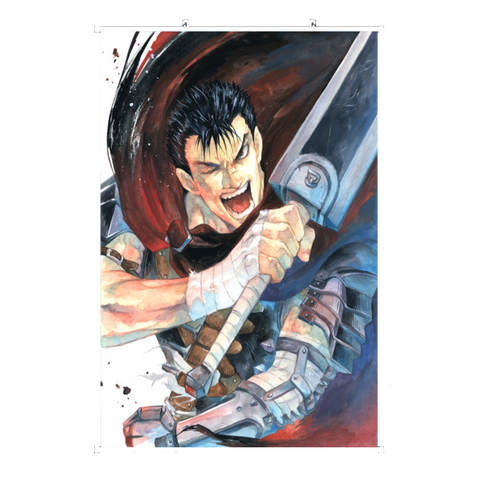 Wall Scroll Berserk Guts