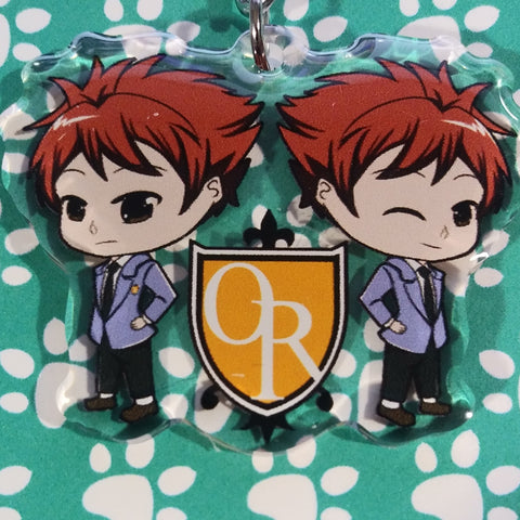 Host Club Hitachiin Twins ANIMEinU Keychain