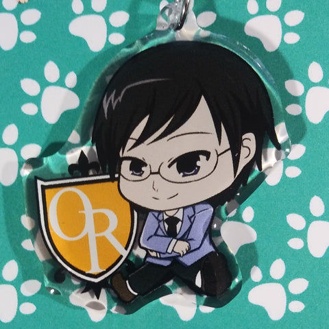 Host Club Kyoya ANIMEinU Keychain