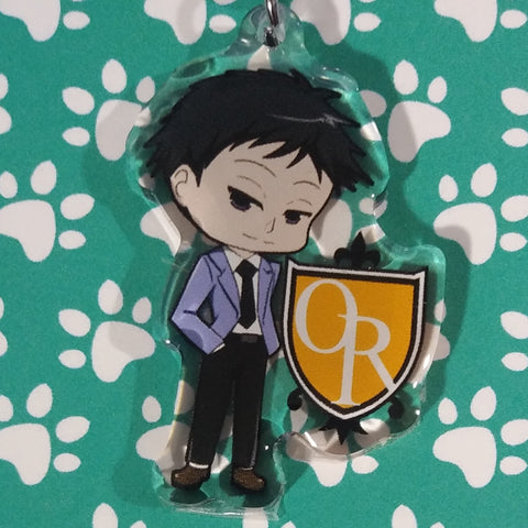Host Club Mori ANIMEinU Keychain