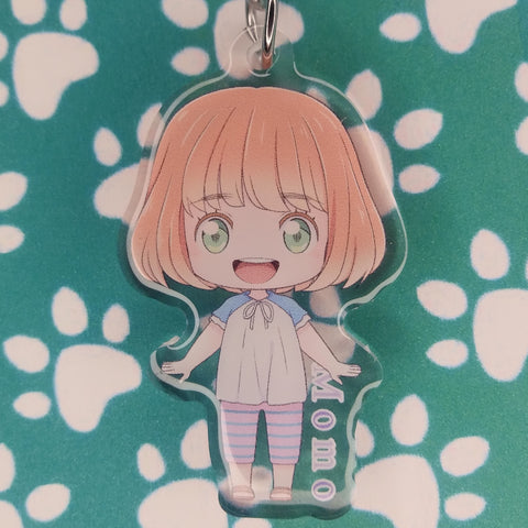 March comes in like a lion Momo Kawamoto ANIMEinU Keychain