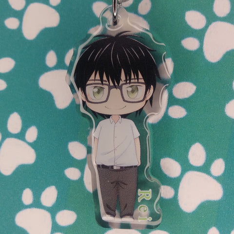 March comes in like a lion Rei Kiriyama ANIMEinU Keychain