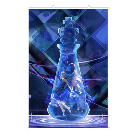Wall Scroll No Game No Life Chess Piece