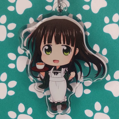 Is The Order A Rabbit? Chiya ANIMEinU Keychain