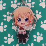 Is The Order A Rabbit? Cocoa ANIMEinU Keychain