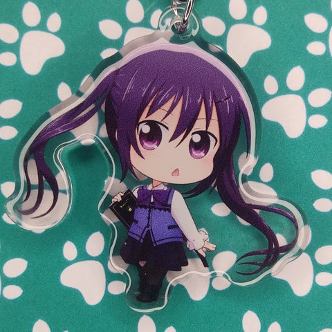 Is The Order A Rabbit? Rize ANIMEinU Keychain