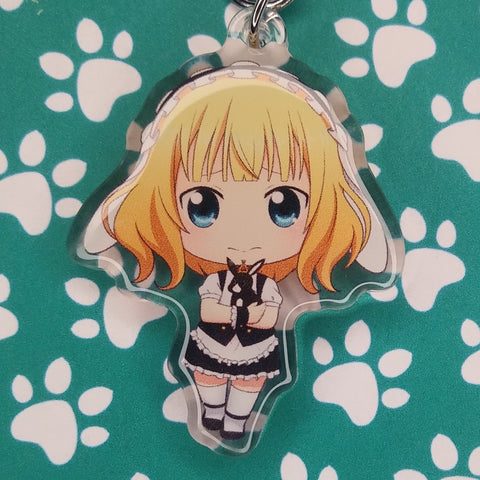 Is The Order A Rabbit? Sharo ANIMEinU Keychain