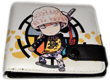 One Piece Law Chibi Coin Wallet