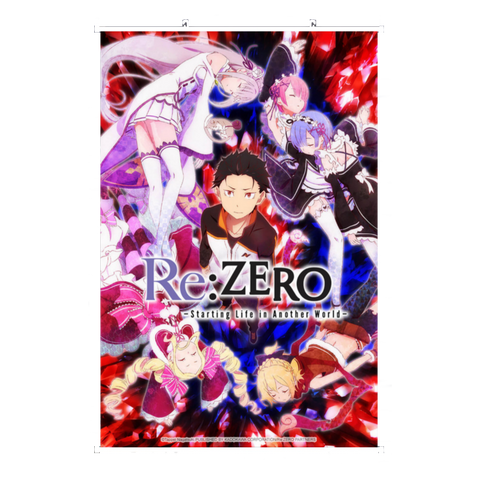 Wall Scroll Re:Zero Cover