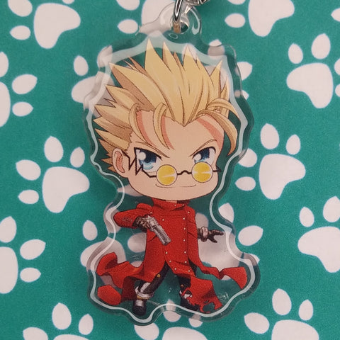 Trigun Vash the Stampede ANIMEinU Keychain