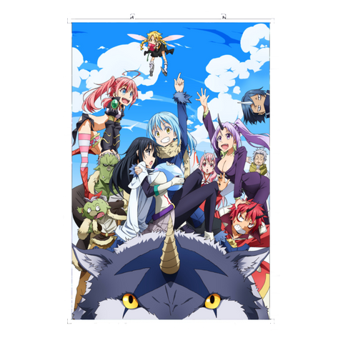 Wall Scroll That Time I Got Reincarnated as a Slime