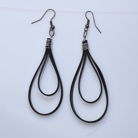 Salvage Bike Lovers Earrings - Now Chase the Sun