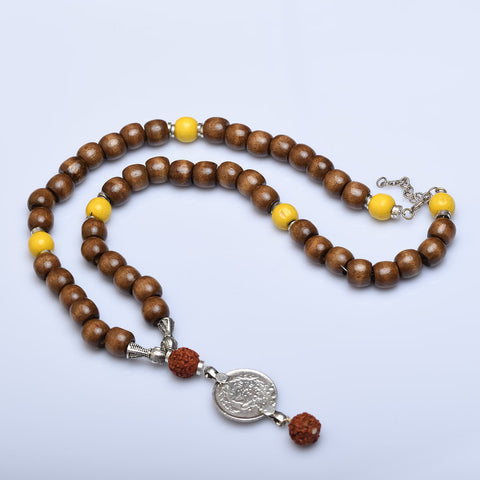Keeping it Real Rudraksha Necklace (Various Colors) - Now Chase the Sun