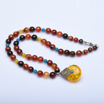 Serendip Amber Lights Necklace - Now Chase the Sun