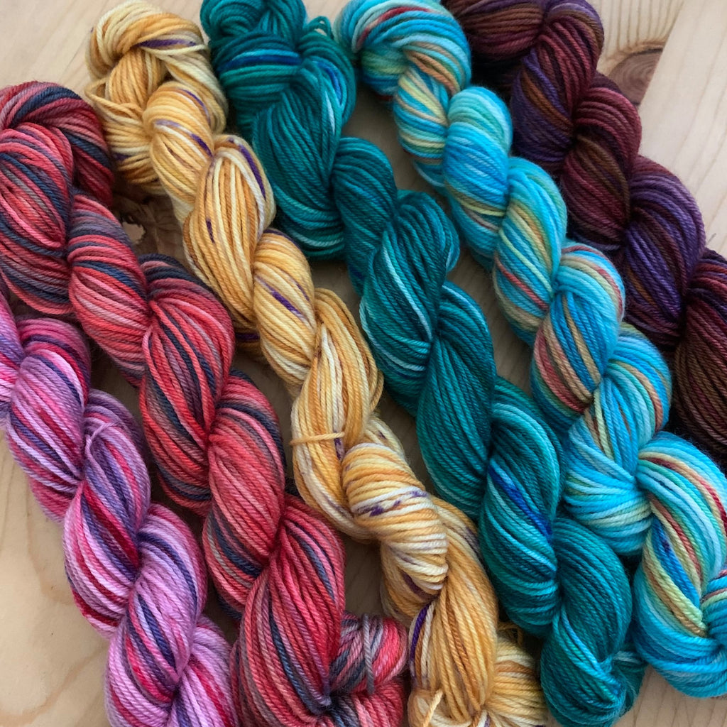 Terra Sock Mini Skeins