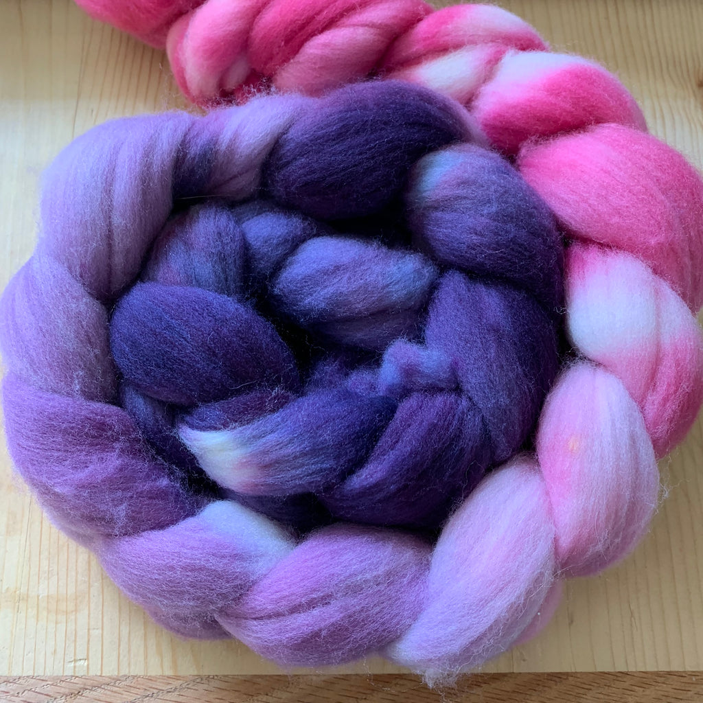 hand-dyed superwash targhee