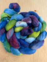 hand-dyed superwash merino nylon