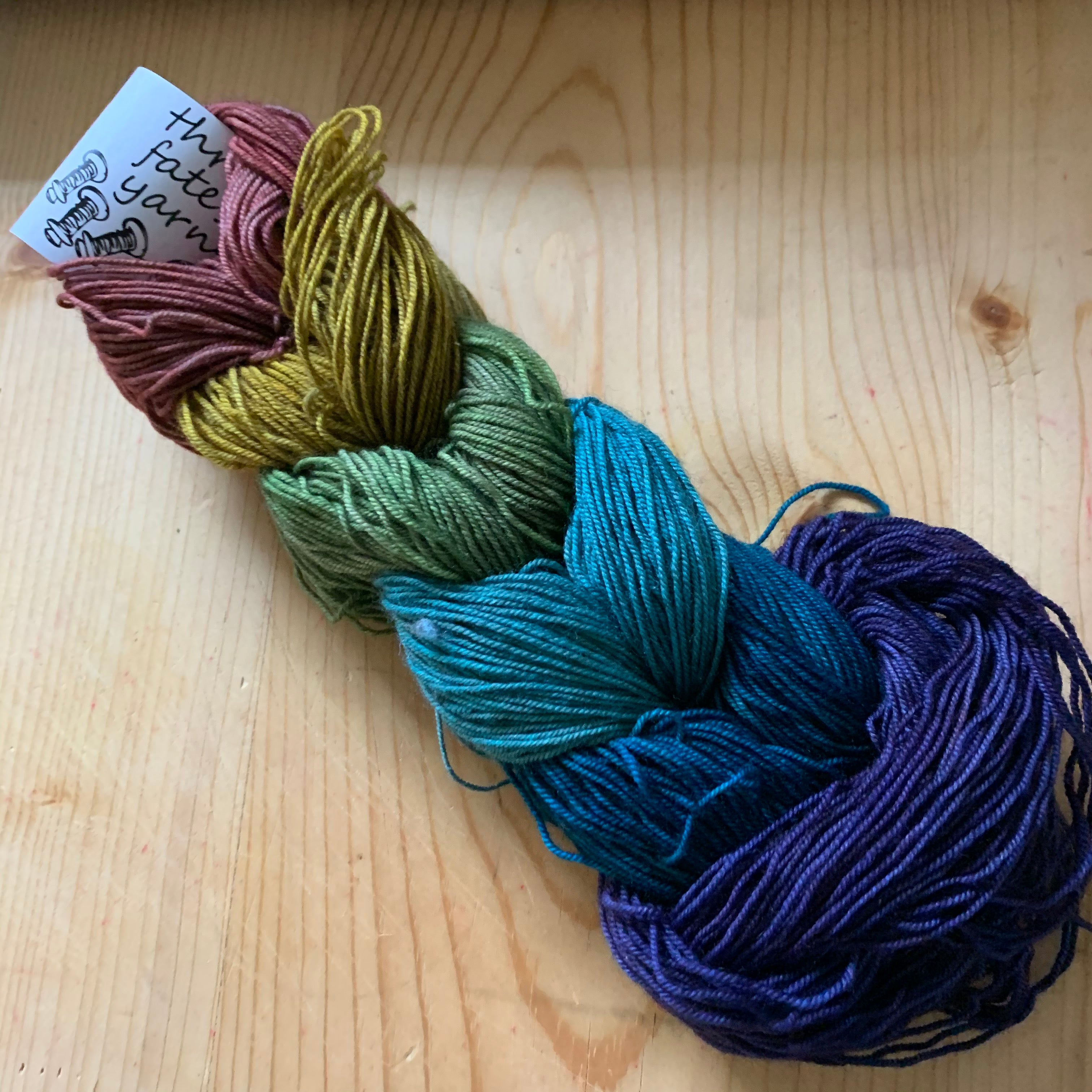 rainbows color changing mini skein sets