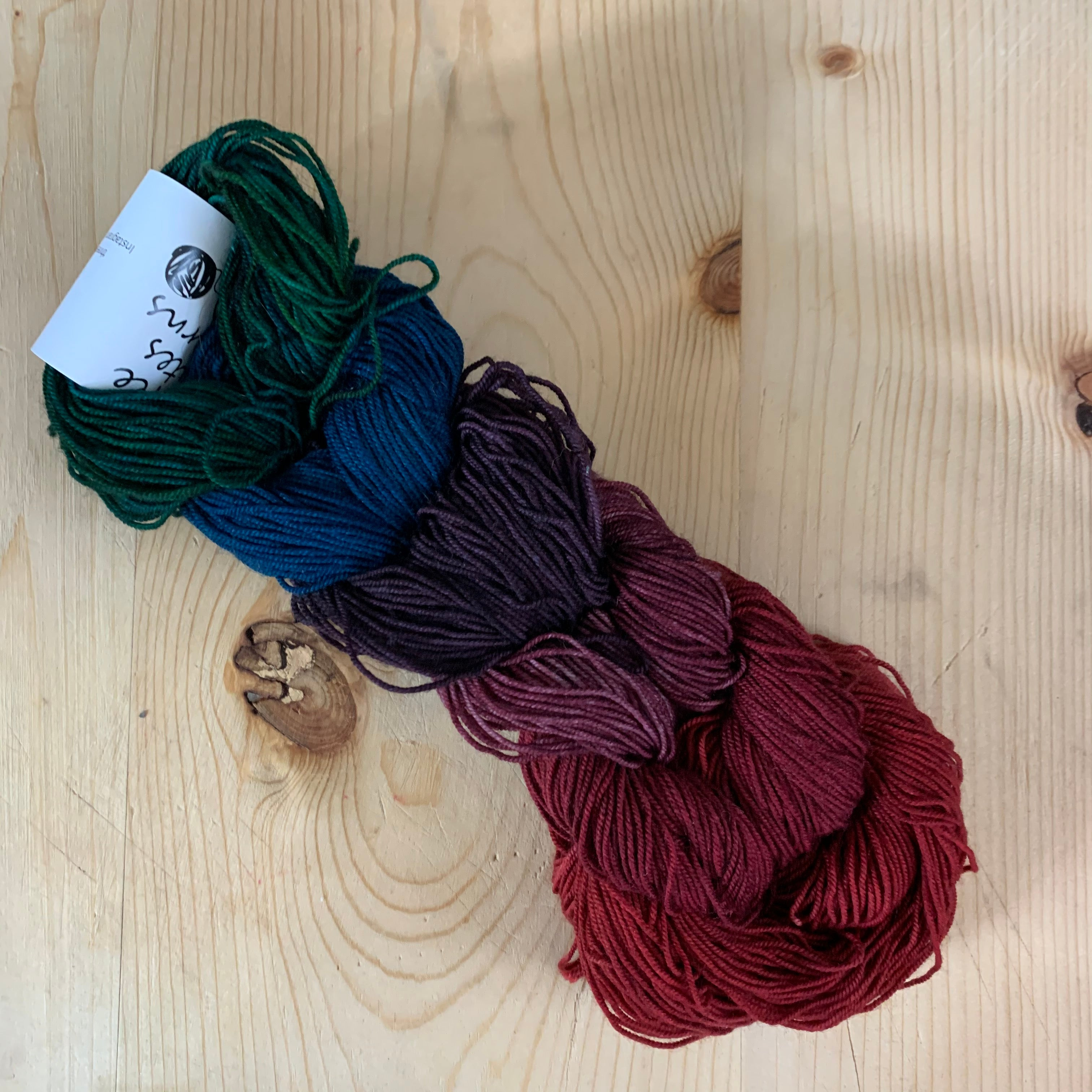 welcome to the jungle - color changing mini skein sets