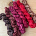 eponymous sock -  color changing mini skein sets