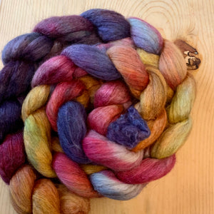 Wool and Fiber Arts Sale - Merino, Yak, and Silk Fiber