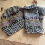 little biscuit beanie and mitts kit - helios