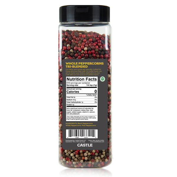 WHOLE PEPPERCORNS TRI-BLENDED