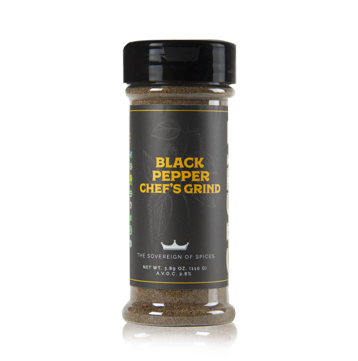 BLACK PEPPER CHEF'S GRIND
