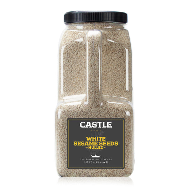 WHITE SESAME SEEDS HULLED