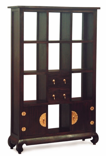 Ming Chinese Antique 2 Door 2 Drawer Chinese Divider