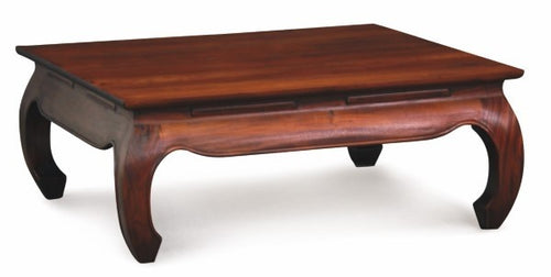 Ming Chinese Opium Leg Coffee Table 90 x 90