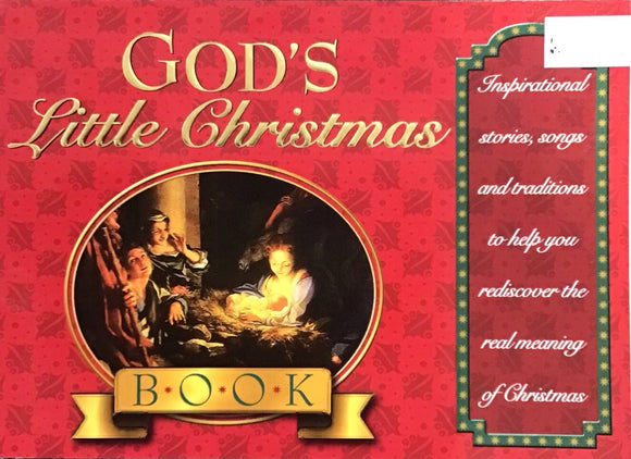 God's Little Christmas Book (Paperback) Honor Books
