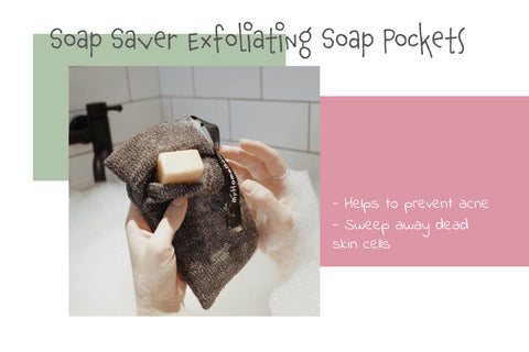 myhomebody soap pocket soap saver exfoliating bath and shower tools