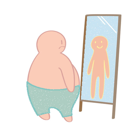 body image, motivation, fat to fit, body dysmorphia