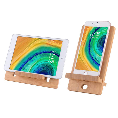 bamboo iphone stand