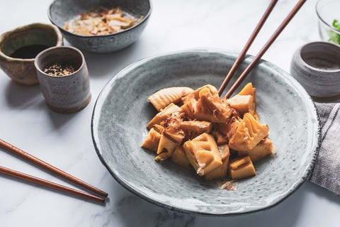 cooked bamboo shoots - Takenoko