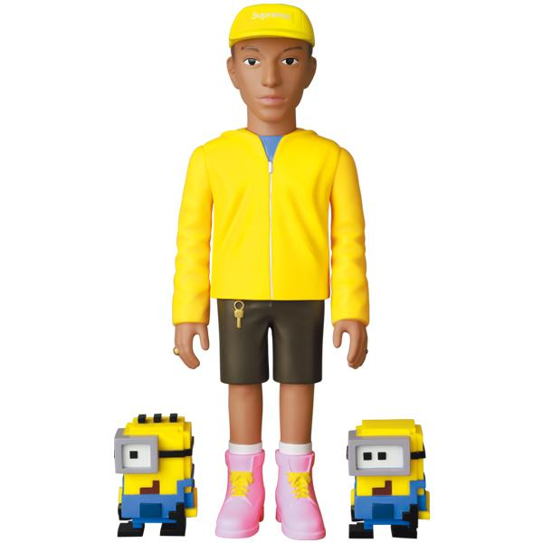 VCD Pharrell Williams and Minions
