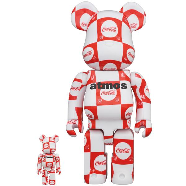 BE@RBRICK atmos × Coca-Cola 東京 100% & 400%