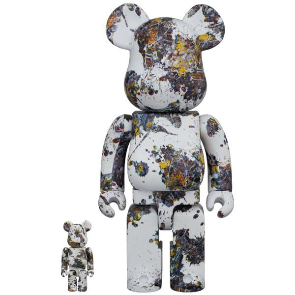 BE@RBRICK Jackson Pollock Studio(SPLASH) 100% & 400%《Planned to be shipped in late January 2021》