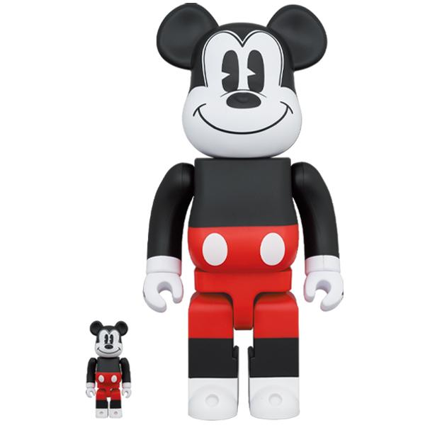 BE@RBRICK MICKEY MOUSE (R&W 2020 Ver.) 100% & 400%《Planned to be shipped in late November 2020》